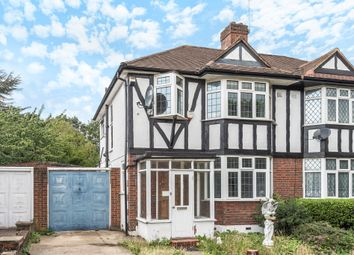 Thumbnail 3 bed semi-detached house for sale in Beverley Way, London