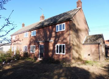 Thumbnail 3 bed property to rent in Stake Bridge Road, Scottow, Norwich