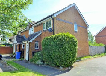 Thumbnail 2 bed end terrace house to rent in Nether Vell-Mead, Church Crookham, Fleet