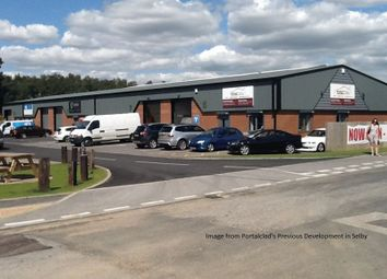 Thumbnail Commercial property for sale in New Development, Hopper Hill Road, Eastfield Industrial Estate, Scarborough