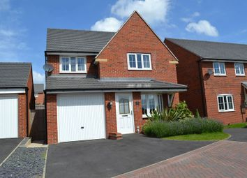 Thumbnail 3 bed detached house to rent in Suffolk Way, Church Gresley, Swadlincote