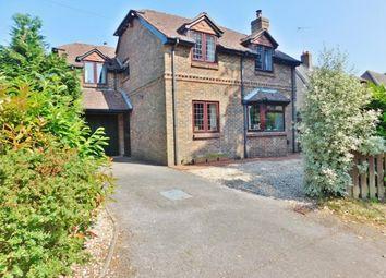 Thumbnail 4 bed detached house for sale in Vicarage Lane, Stubbington, Fareham
