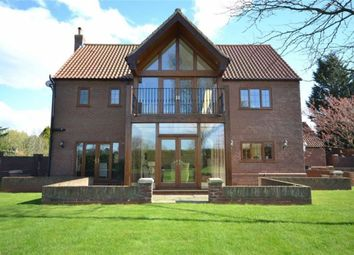Thumbnail 4 bed detached house for sale in Knowles Garth, North Thoresby, Grimsby