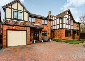 Thumbnail 4 bed detached house for sale in Buzzard Close, Hartford, Huntingdon