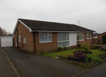 Thumbnail 2 bed bungalow to rent in Herbert Street, Crewe