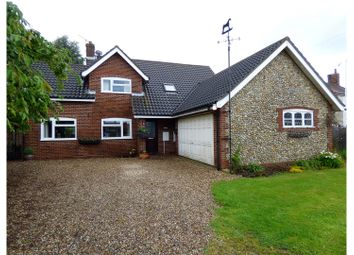 Thumbnail 3 bedroom detached house for sale in North Walsham Road, Bacton
