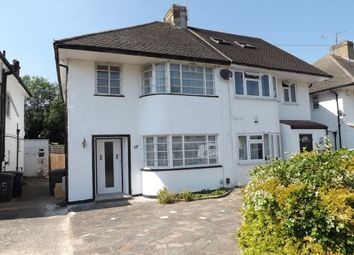 Thumbnail 3 bed semi-detached house to rent in Mill Ridge, Edgware