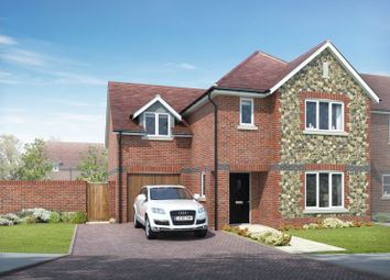 Thumbnail 4 bed detached house for sale in Main Road, Southbourne, Emsworth