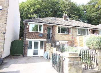 Thumbnail 4 bed semi-detached bungalow for sale in 122 Bracken Road, Brighouse