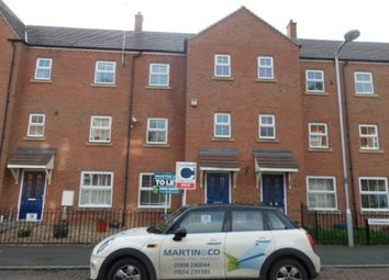 Thumbnail 3 bed town house to rent in Colossus Way, Bletchley, Milton Keynes