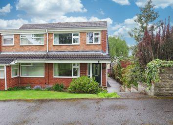 Thumbnail 3 bed semi-detached house for sale in Kirkcroft Avenue, Killamarsh, Sheffield
