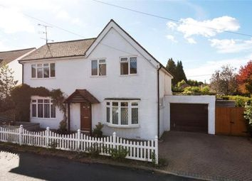 Thumbnail 4 bed detached house for sale in New Road, Church Crookham, Fleet