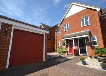 Thumbnail 3 bed semi-detached house for sale in Gunver Lane, Tattenhoe, Milton Keynes, Buckinghamshire
