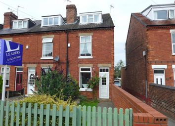 Thumbnail 3 bed end terrace house to rent in Mansfield Road, Warsop, Mansfield
