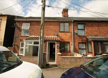 Thumbnail 2 bed terraced house to rent in Gresham Road, Beccles