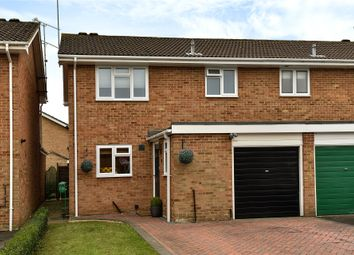 Thumbnail 3 bed semi-detached house for sale in Moray Avenue, College Town, Sandhurst, Berkshire