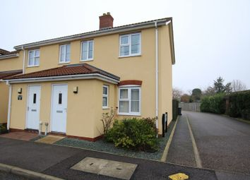 Thumbnail 2 bed end terrace house for sale in West Carr Road, Attleborough
