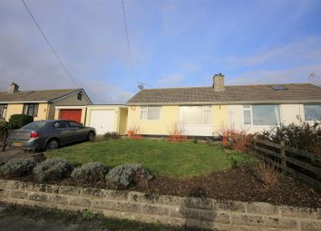 Thumbnail 3 bed semi-detached bungalow for sale in Trewarton Road, Penryn