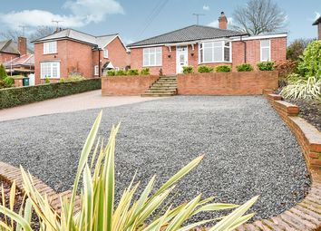 Thumbnail 3 bed detached bungalow for sale in Bretby Lane, Bretby, Burton-On-Trent