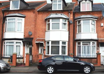 Thumbnail 4 bed terraced house for sale in Gwendolen Road, Leicester