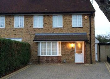 Thumbnail 3 bed end terrace house to rent in Cameron Drive, Waltham Cross, Hertfordshire