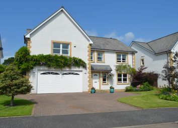 Thumbnail 4 bed detached house for sale in Holmwood Park, Crossford, Carluke