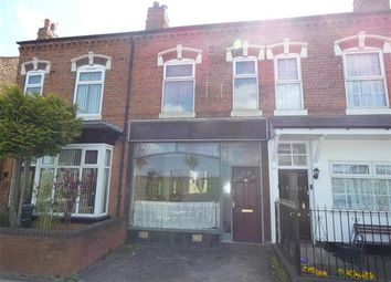 Thumbnail 1 bed terraced house for sale in Church Road, Yardley, Birmingham