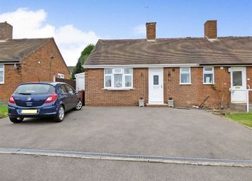 Thumbnail 1 bedroom semi-detached bungalow for sale in Grasmere Place, Cannock, Staffordshire