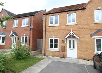 Thumbnail 2 bed semi-detached house for sale in Clarke Avenue, Dinnington, Sheffield