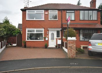 Thumbnail 3 bed semi-detached house for sale in Garner Drive, Monton Manchester