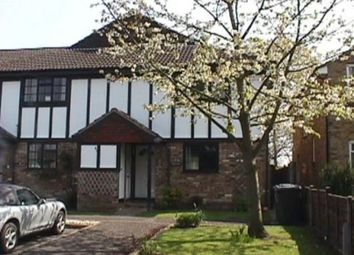 Thumbnail 1 bed flat to rent in Halley's Walk, Addlestone, Surrey