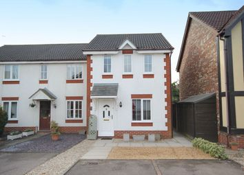 Thumbnail 2 bedroom terraced house for sale in Bunyan Close, Dussindale, Norwich