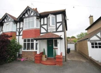 Thumbnail 3 bed property to rent in Balcombe Avenue, Worthing