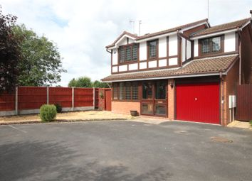 Thumbnail 4 bed detached house to rent in Bentons Court, Kidderminster, Worcestershire