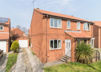 Thumbnail 3 bed semi-detached house for sale in Con Owl Close, Helmsley, York