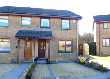 Thumbnail 3 bed semi-detached house for sale in Craigson Place, Moffat Mills, Airdrie, North Lanarkshire