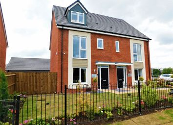 Thumbnail 4 bed semi-detached house for sale in Castle Street, Stafford