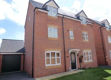 Thumbnail 4 bed detached house for sale in Jeque Place, Stretton, Burton-On-Trent