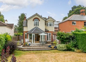 Thumbnail 4 bed detached house for sale in Burnt Hill Road, Wrecclesham, Farnham