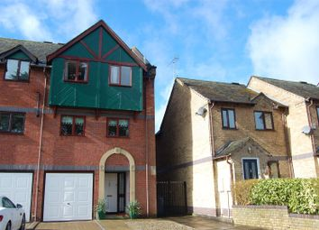 Thumbnail 3 bed town house for sale in Waterside Court, Gnosall, Stafford