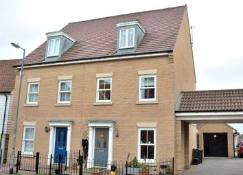 Thumbnail 4 bedroom semi-detached house for sale in Flitch Green, Dunmow, Essex