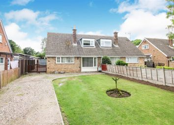 Thumbnail 3 bed semi-detached house for sale in Wharram Field, Beeford, Driffield