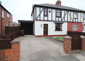 Thumbnail 3 bed semi-detached house for sale in Lumley Terrace, Jarrow