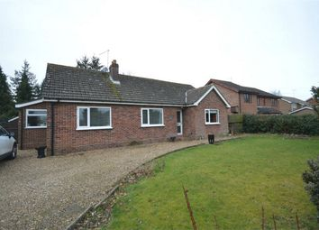 Thumbnail 2 bedroom detached bungalow for sale in Stratton Road, Hainford, Norwich