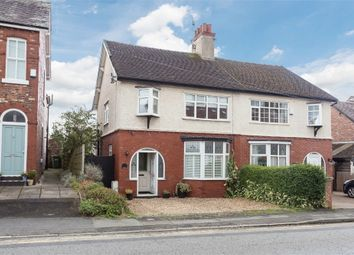 Thumbnail 3 bed semi-detached house for sale in Knutsford Road, Alderley Edge