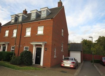 Thumbnail 3 bed town house for sale in Elsons Mews, Welwyn Garden City