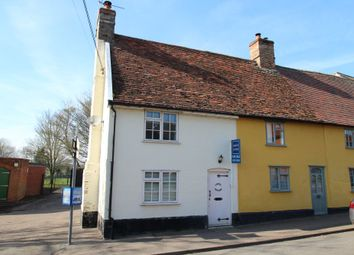 Thumbnail 2 bed end terrace house for sale in Badwell Ash, Bury St Edmunds, Suffolk