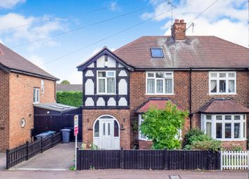 Thumbnail 4 bed semi-detached house for sale in Pierrepont Road, West Bridgford, Nottingham