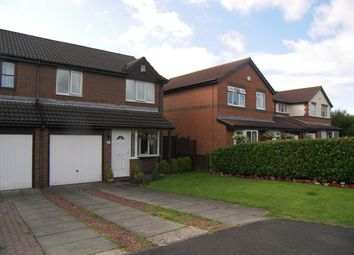 Thumbnail 3 bed semi-detached house for sale in Birchwood Close, Seghill, Cramlington