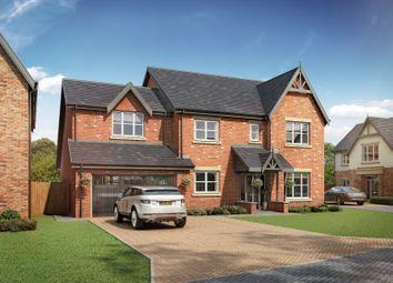 Thumbnail 4 bed detached house for sale in Medburn Park, Medburn Village, Newcastle Upon Tyne